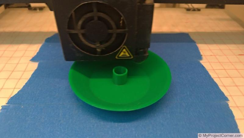 3d printing the parts for fly trap