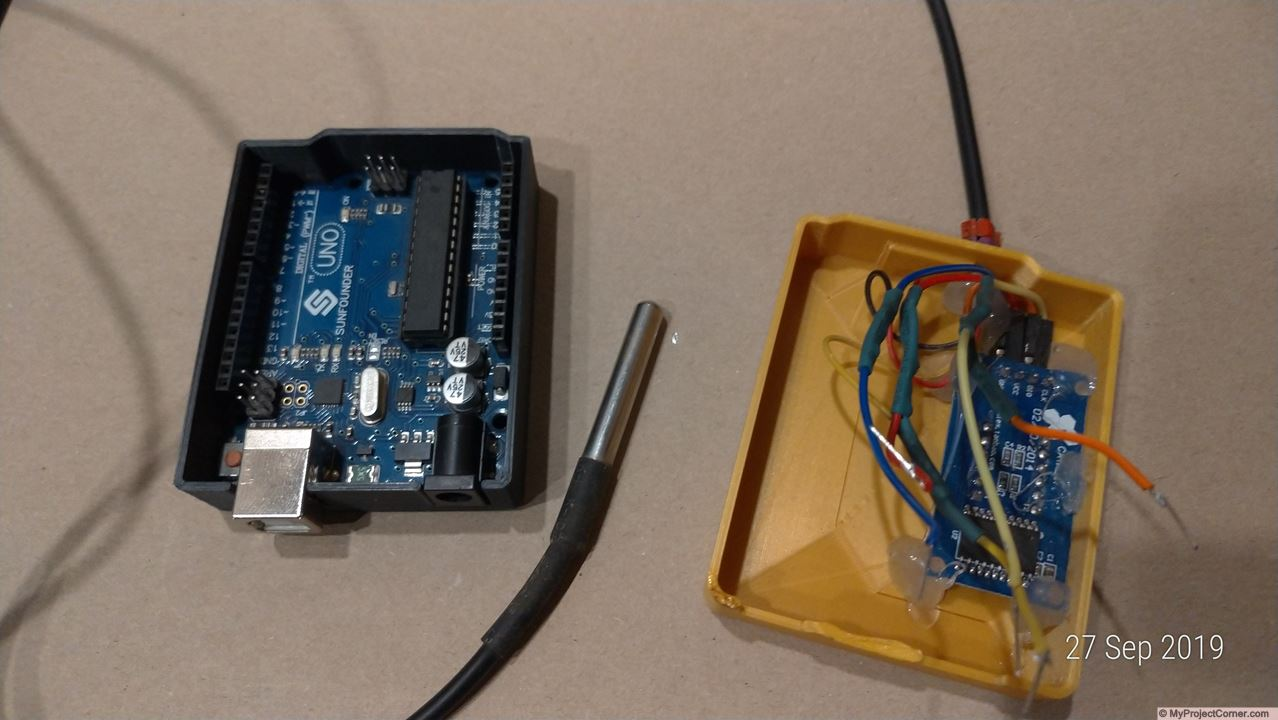 Arduino temperature & timer almost finished