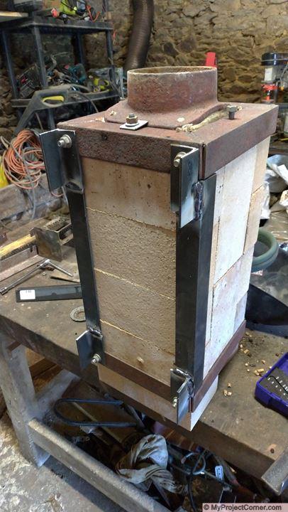 Lengthening pellet stove fire box