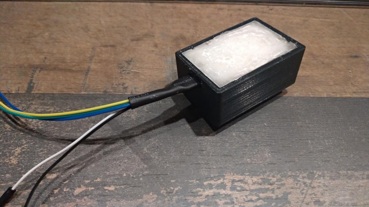 Llenar la grabadora de tiempo de Frambuesa pi con cera