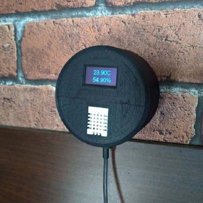 Capteur de température et d'humidité connecté