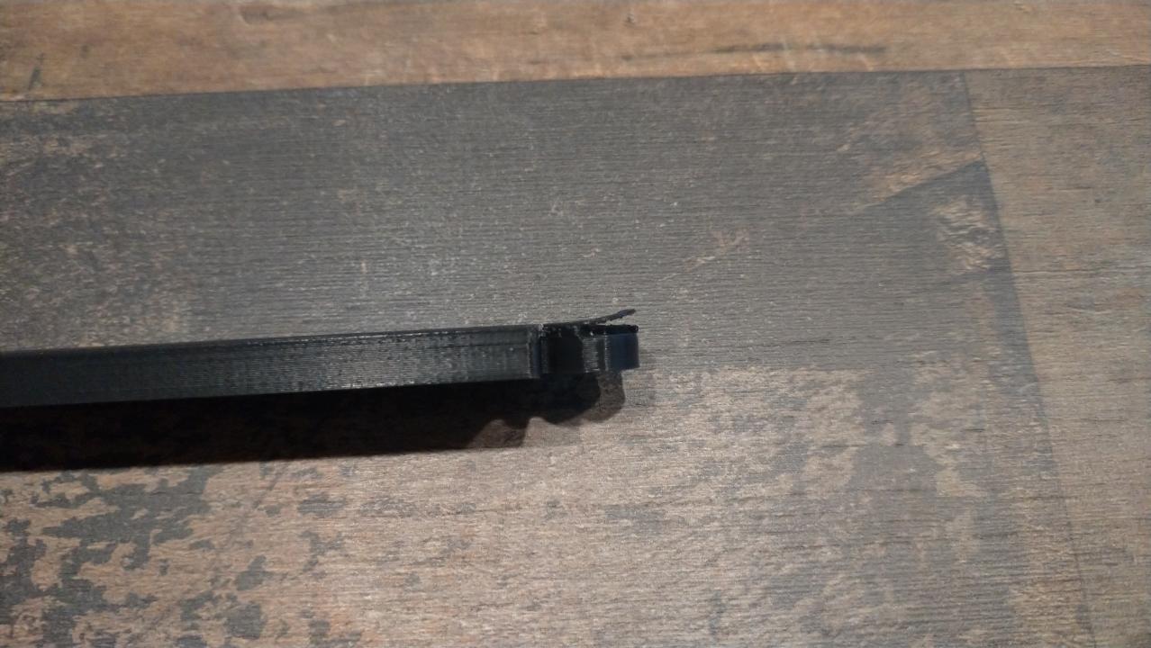 support d'affiche magnétique pour le nettoyage après impression