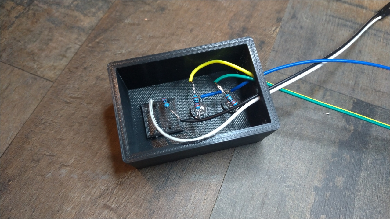 Soudage des composants de l'enregistreur de temps Raspberry Pi