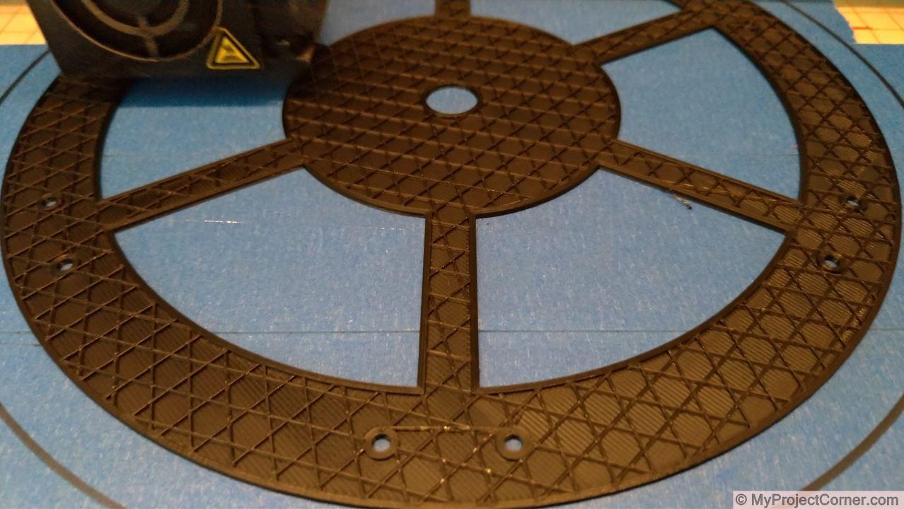 Impression 3D du scarificateur a gazon
