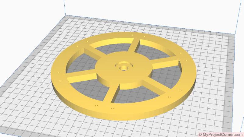 modèle du scarificateur à gazon dans Cura