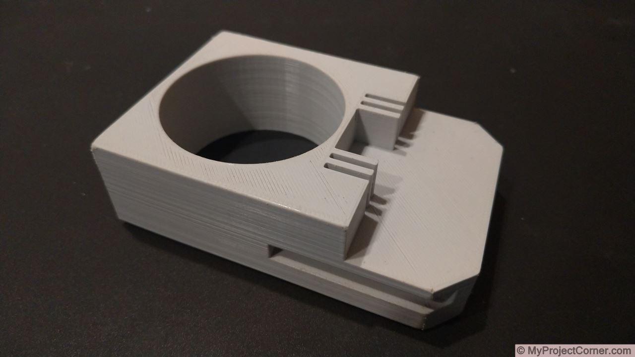 3d printed main part for battery adaptor