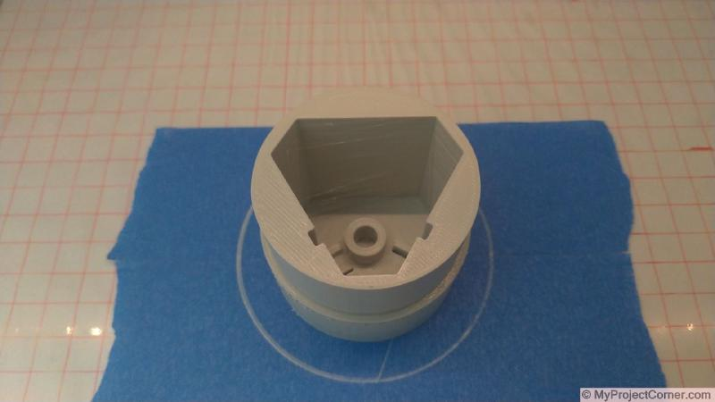 3d printed adaptor part for battery adaptor