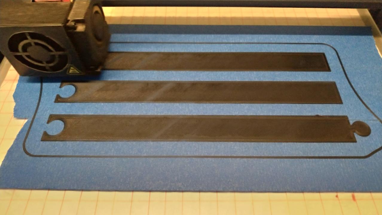 printing magnetic poster holder