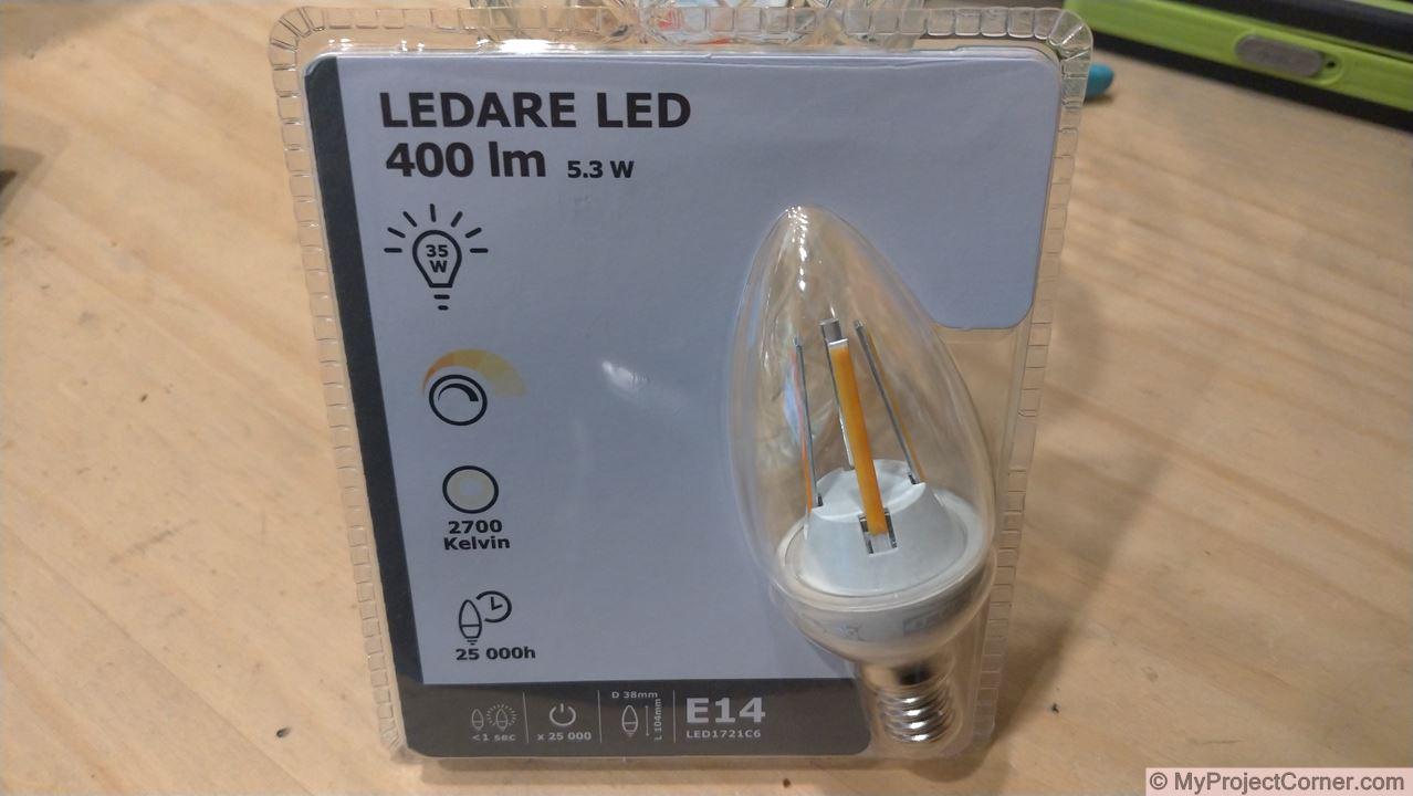 LED Bulb From Ikea