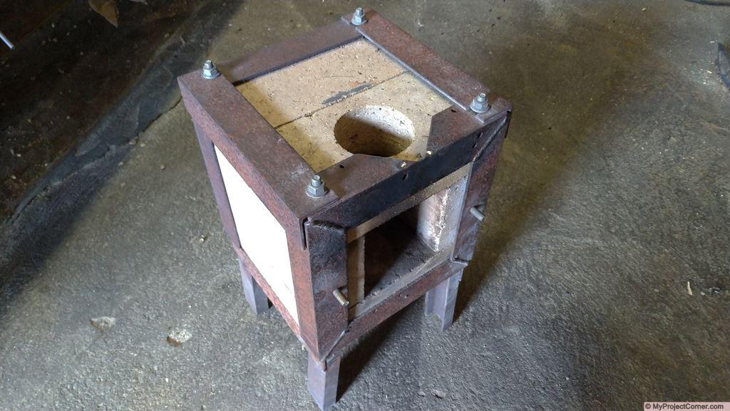 rocket stove fire box design