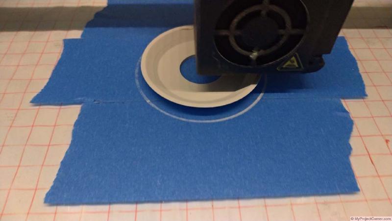3d printing sticky dead fly catcher on my cr-10