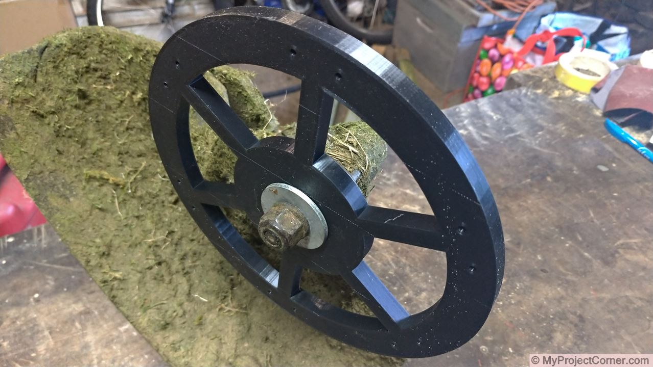 mounting 3D printed scarifier on strimmer