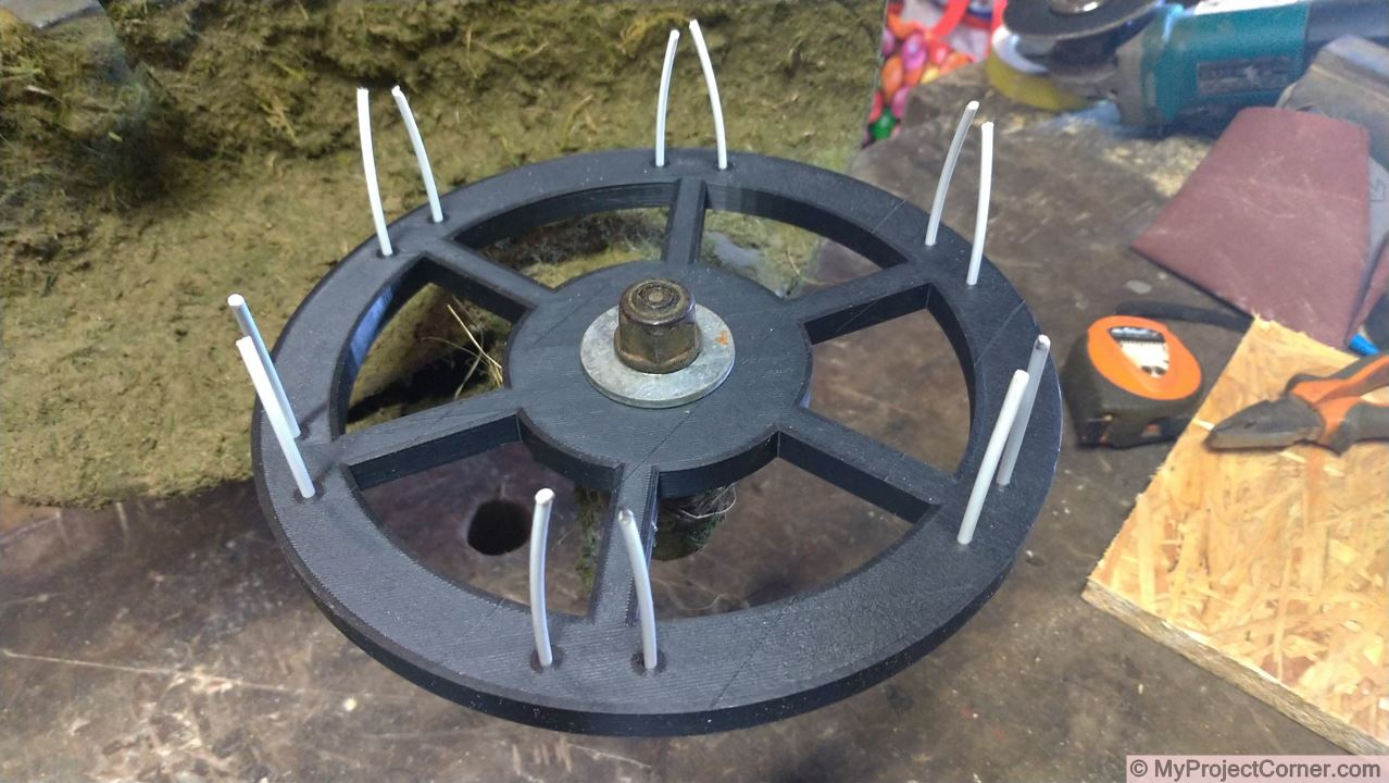 3d printed scarifier ready to try