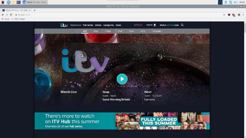 Watch UK TV online outside of the UK on a Raspberry Pi with NordVPN